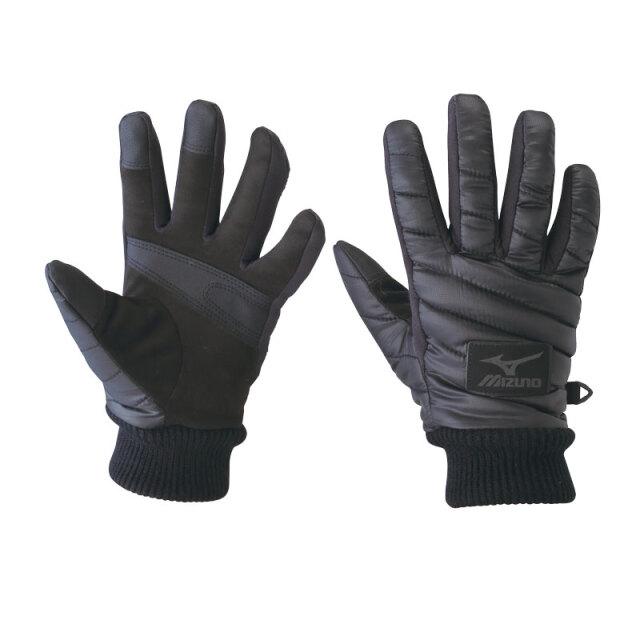 ブレスサーモ中綿手袋 ブラック WT-816