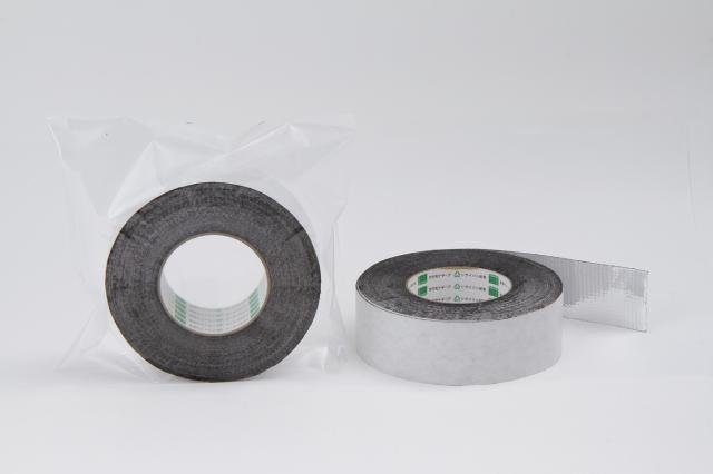 防水アルミブチルテープ BM-01 アルミ箔+PEネット 50mm巾×20M 16巻入り