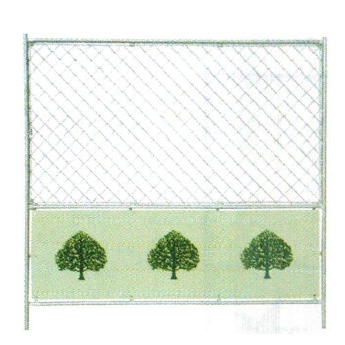 ドブメッキフェンス 樹木 1,800x1,800