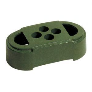 フェンス用鋳物ブロック 緑 9.5kg