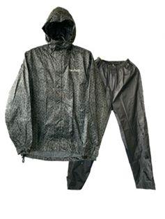 耐水レインスーツ 3L ブラック