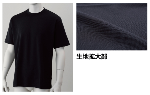 HO-61BK-1 ドライメッシュTシャツ黒M