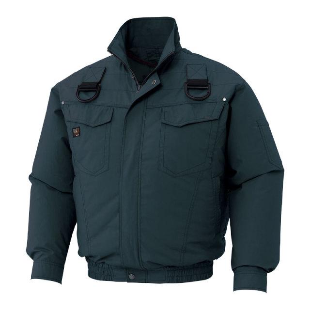 HO-9BGY4L 空調風神服ハーネス用チャコール4L