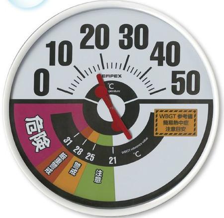防雨型温度・WBGT値計 HO-237