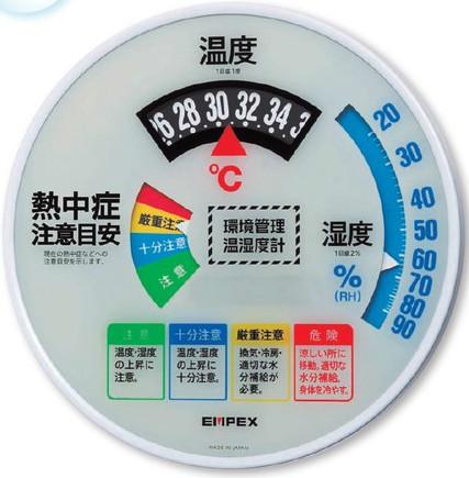【法人様限定商品】温度・湿度計 Type30 【N11-27】