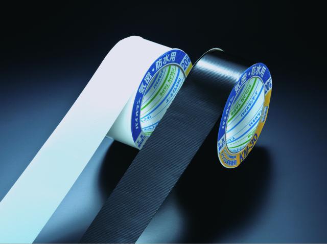 クロス気密 防水テープ Km-30WH 100mm×20m 片面 白 18巻セット