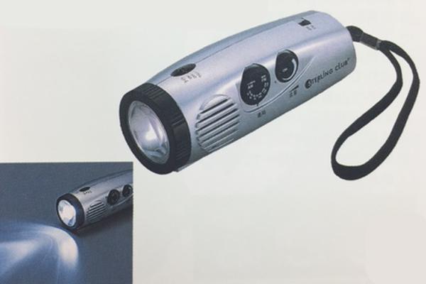 LEDパームラジオライト[BSSG3084]