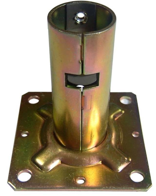 ワンタッチ固定ベース φ31.8 60個セット