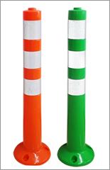 ポールコーン・ポスト「ソフトコーンH」 高さ750mm