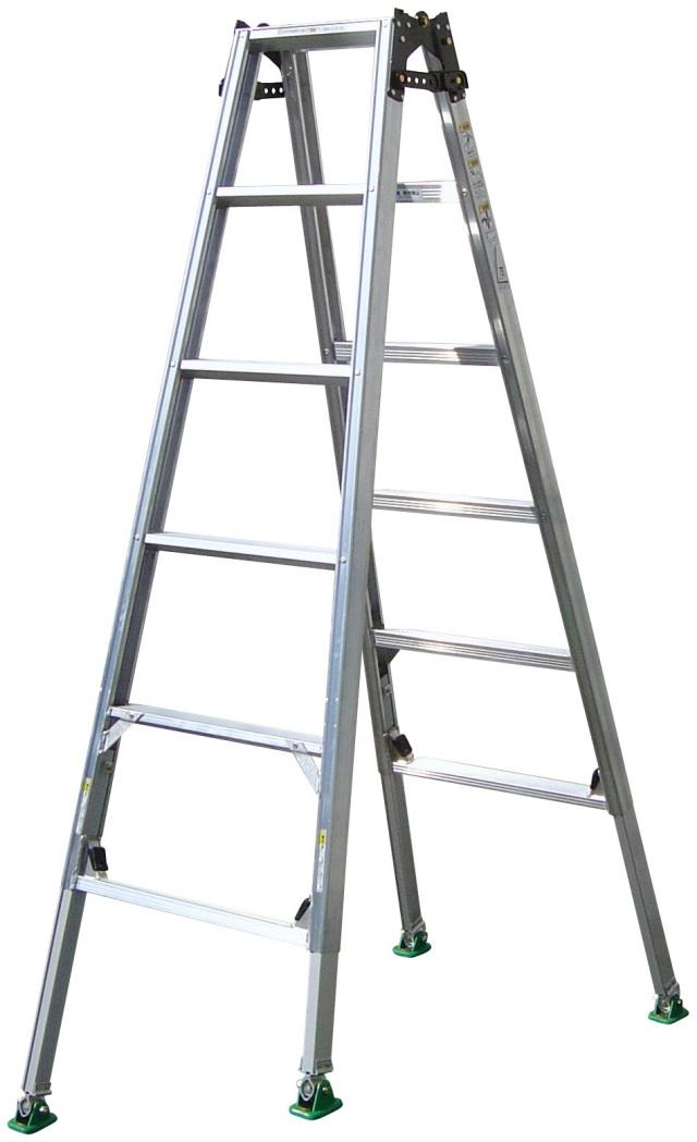 ピッチ(はしご兼用)四脚調節式 はしご兼用脚立脚