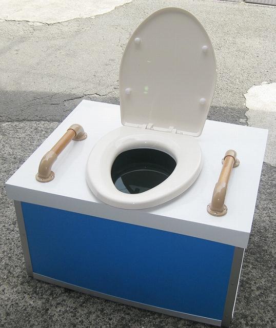 災害備蓄用仮設トイレ