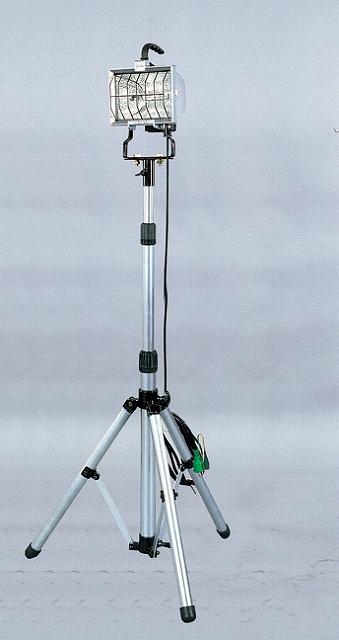 スタンド1灯式ハロゲン投光器