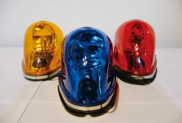 高輝度LED車載回転灯