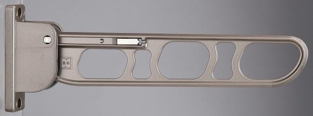バルコニー物干し金物(縦収納型)2個セット SK-36TMS-SC