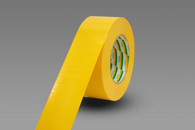 パイオラン 耐久ラインテープ TL-15-YE 50mm×50m 黄 1巻