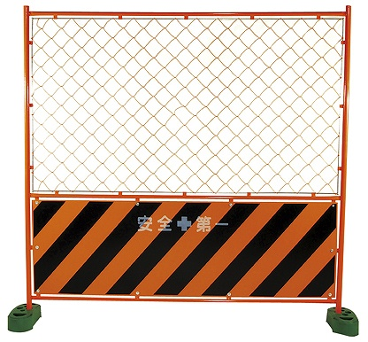ガードフェンス トラ 金網 黄 1,800x1,800