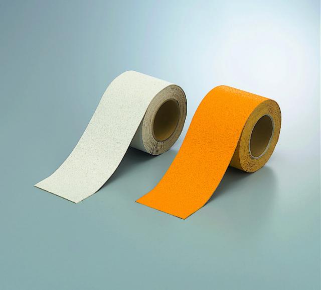 路面貼り用テープ ユニラインテープ 反射 100mm幅×5m  【374-28】