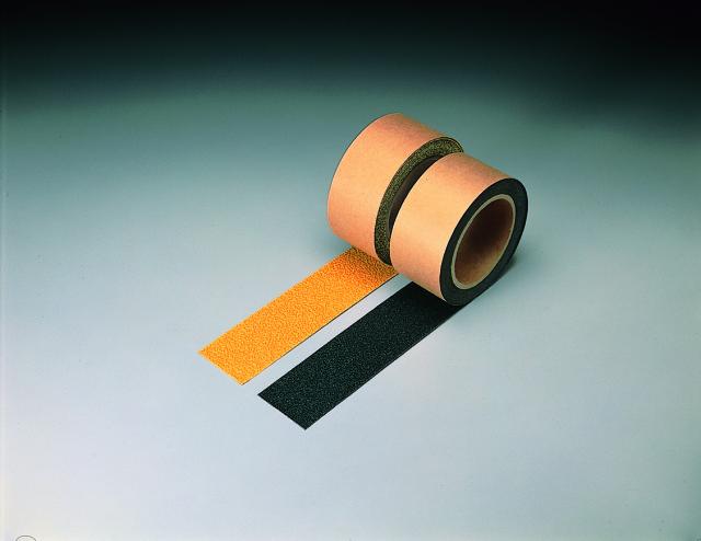 すべり止めテープ 平面用(黄) 100mm幅  【374-95】