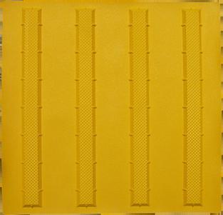 点字パネル300角 ラインタイプ 合成ゴム使用