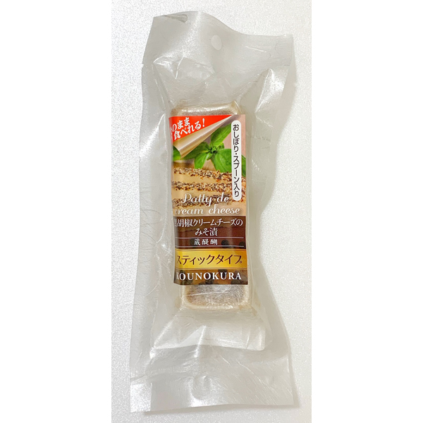 スティックタイプ 黒胡椒クリームチーズのみそ漬 35g