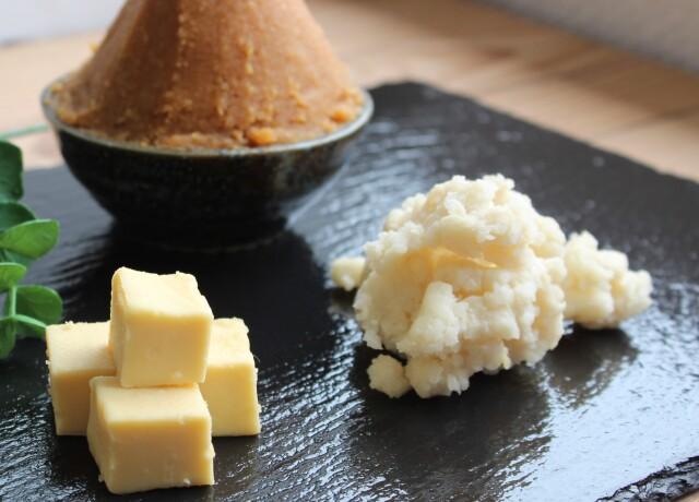 クリームチーズの純米酒粕漬