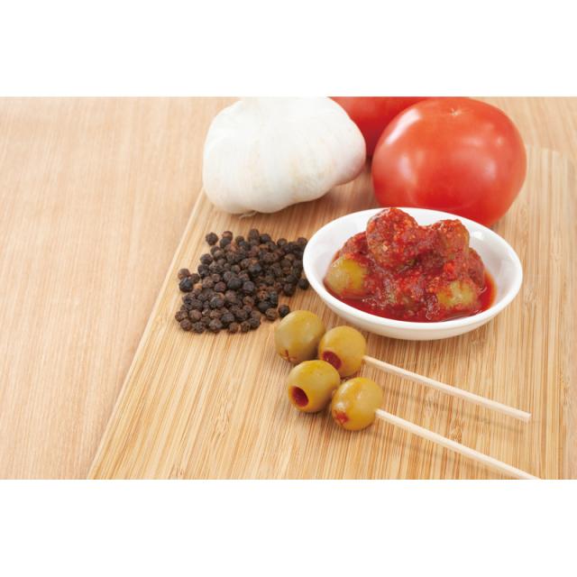 黒胡椒トマトオリーブのイメージです。