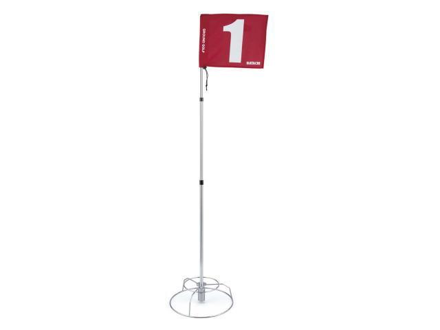 グラウンド・ゴルフ8ホールセットのホールポストと旗
