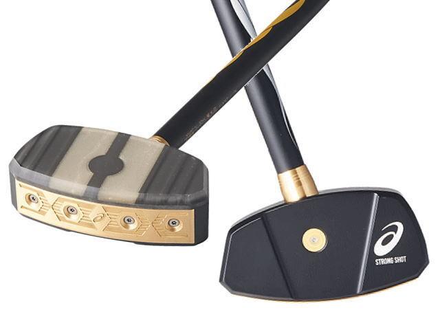GGストロングショットハイパー アシックス 3283A014 グラウンド・ゴルフクラブ