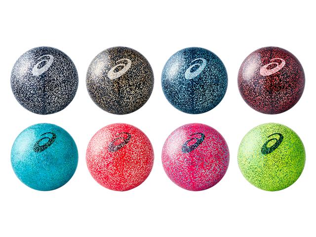 GGクリアボールギャラクシー (asics アシックス 3283A046 / グラウンド・ゴルフボール)