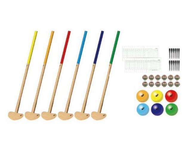 クラブ・樹脂ボール6色セット 3283A069 アシックス asics グラウンド・ゴルフクラブ団体用