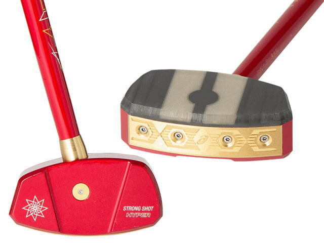 2020年秋冬限定品モデル アシックスGGストロングショットハイパーJP グラウンド・ゴルフクラブ