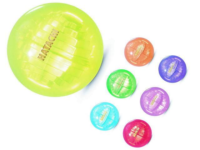 クリスタルボールラン ハタチ グラウンド・ゴルフボール BH3801 全7色