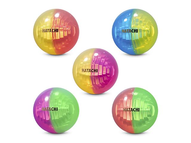クリスタルボールラン限定品 ツートンカラー(HATACHI ハタチ BH3801B グラウンド・ゴルフボール)