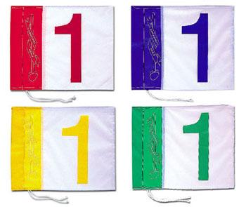 旗セット NO.1-8 (ハタチ/BH5000S/グラウンド・ゴルフ用コース設備品)