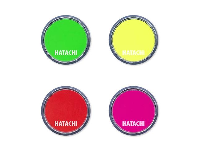 蛍光マーカー (ハタチ / BH6042 / グラウンド・ゴルフ パークゴルフマーカー)