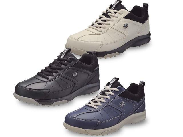 グラウンド・ゴルフ、パークゴルフ男性用靴、ハタチ 品番BH8922(スポルディング)