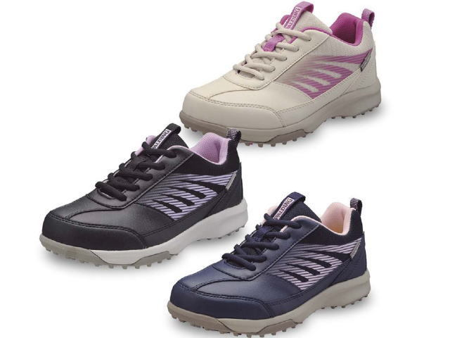 グラウンド・ゴルフ、パークゴルフ女性用靴、ハタチ 品番BH8923(スポルディング)