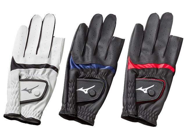 手袋合皮指出しタイプ (ミズノ/C3JGP802/グラウンド・ゴルフ手袋)