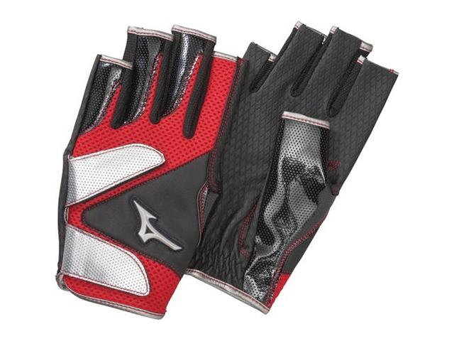 手袋メッシュ指出しタイプ (ミズノ/C3JGP805/グラウンド・ゴルフ手袋)