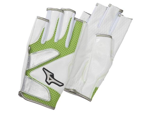 手袋メッシュ指出しタイプ (ミズノ/C3JGP815/グラウンド・ゴルフ手袋)