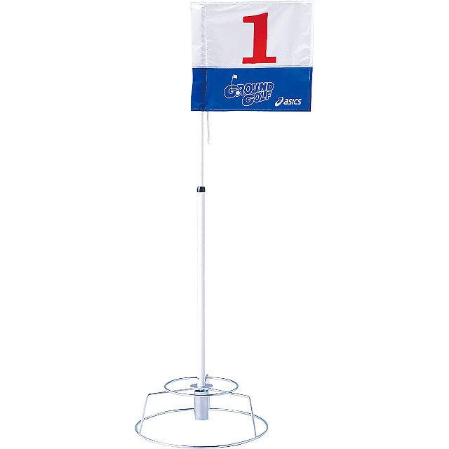 伸縮ポールホールポスト アシックス GGG048 グラウンドゴルフ