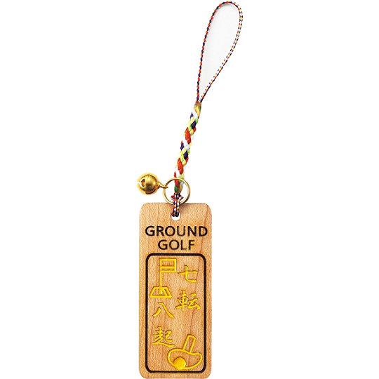 グラウンドゴルフ クラブストラップ アシックス GGG461 イエロー