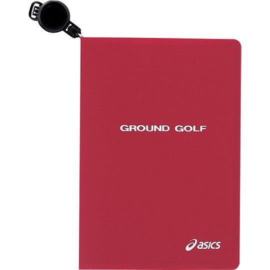 アシックス グラウンドゴルフ GGG521 スコアカードボード ワイン