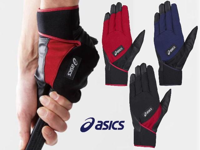 パワーホールドグローブ ストレート GGG631 アシックス 片手用手袋 グラウンド・ゴルフ asics