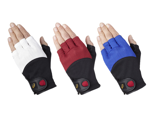 磁石付きフィンガーグローブ (asics アシックス GGG634)グラウンド・ゴルフ手袋