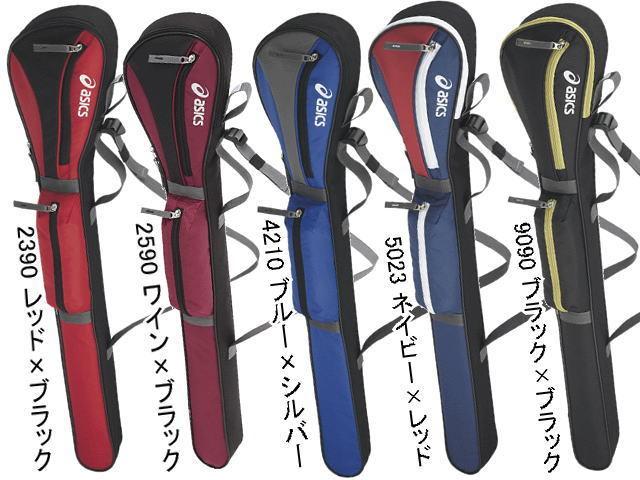 アシックス グラウンドゴルフセットのクラブバッグ5色(ケース)
