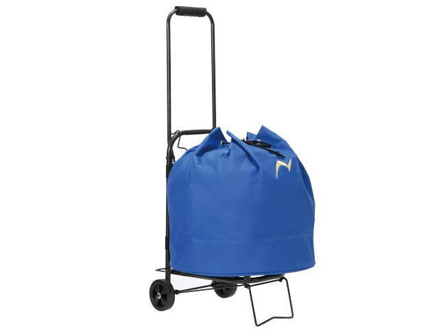 キャリーカート付きホールポストバッグ グラウンド・ゴルフコースのホールポストのバッグ ニチヨー品番HB-BSC