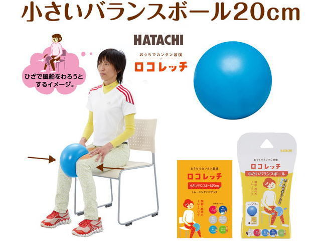 小さいバランスボール ハタチ NH3000 ロコレッチ