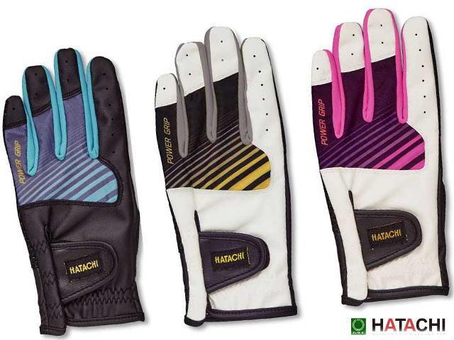 パワーグリップ合皮手袋 全指有タイプ BH8070 ハタチ グラウンド・ゴルフ