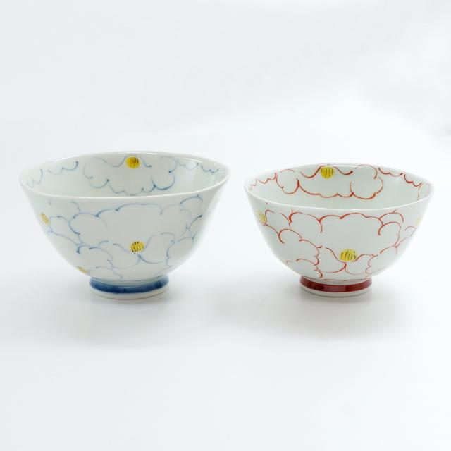 花詰茶碗(大・小)